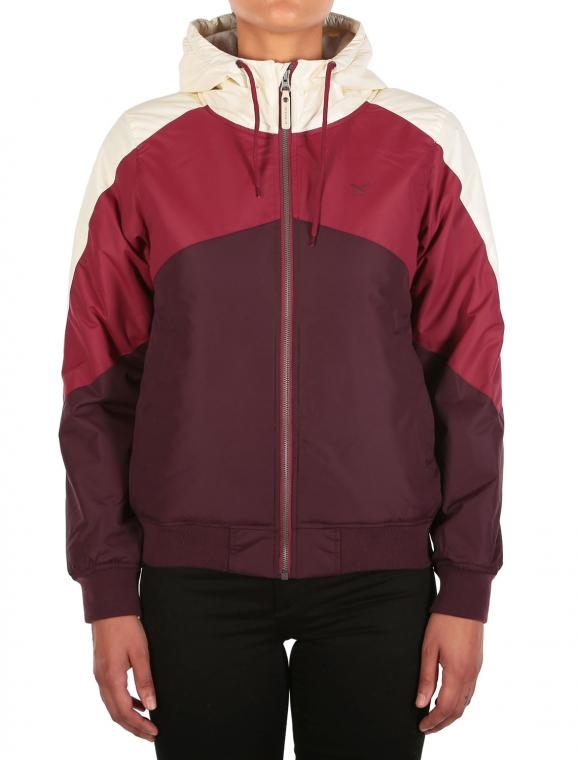IRIEDAILY TRI COLORE JACKET [RED WINE]