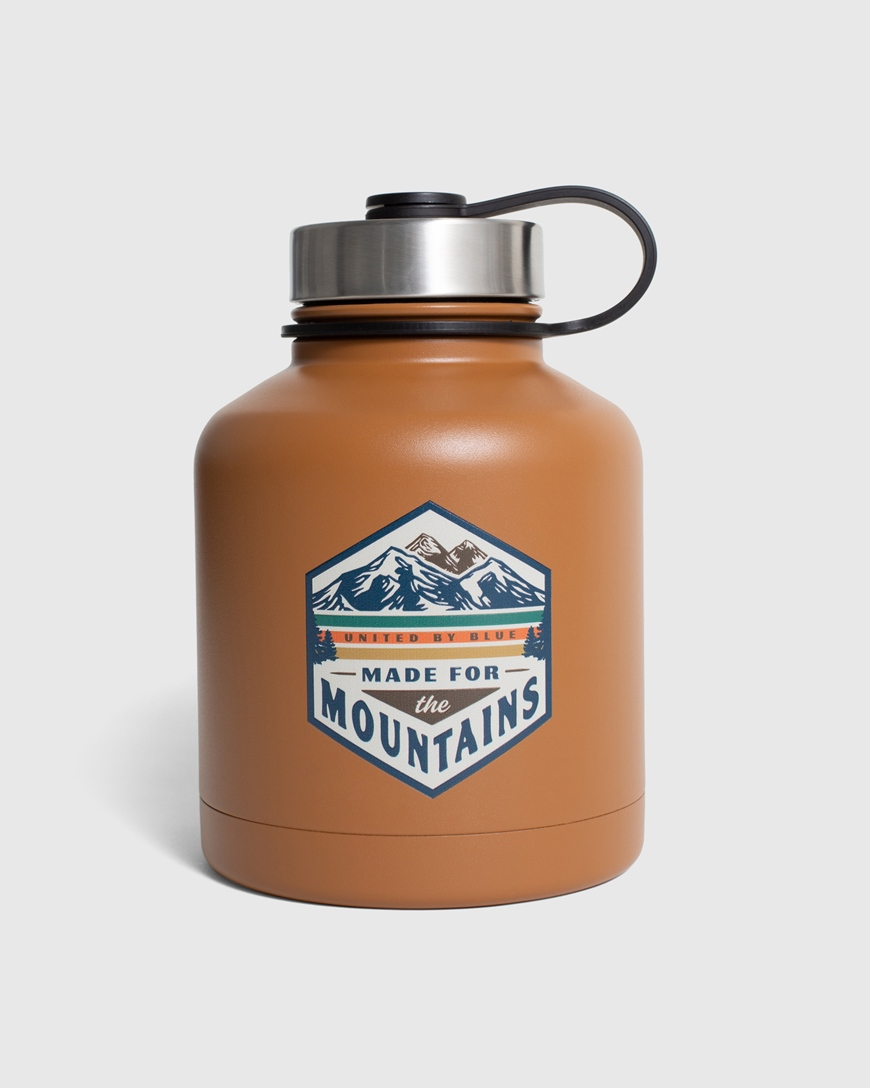 UNITED BY BLUE MADE FOR THE MOUNTAINS GROWLER