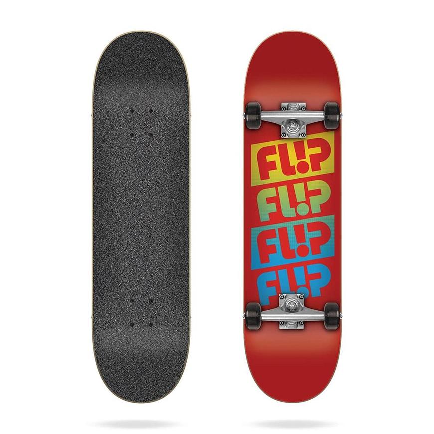 FLIP TEAM QUATTRO RED COMPLET