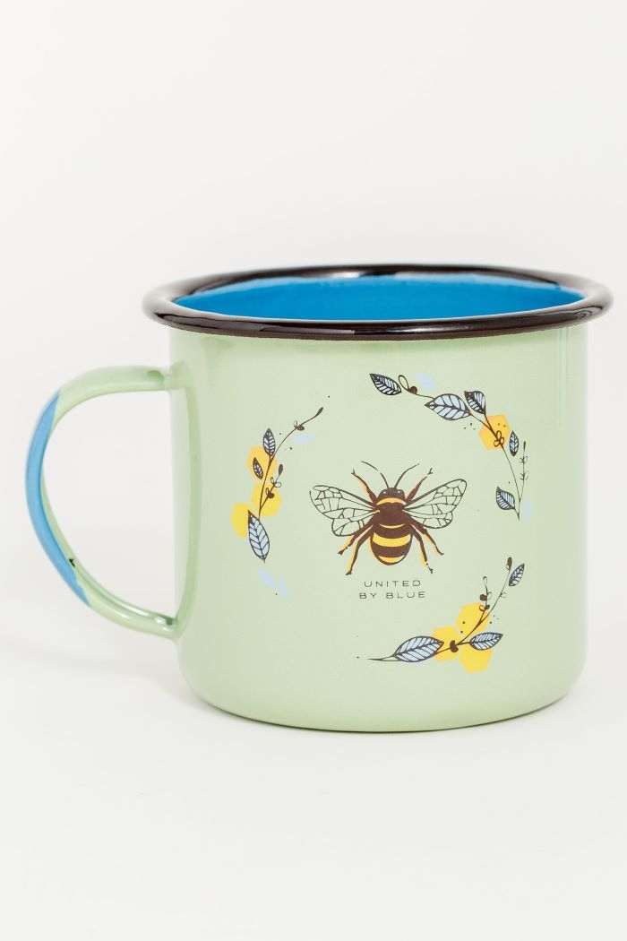UNITED BY BLUE HONEY BEE